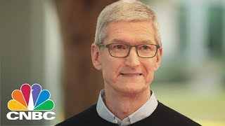 Apple's Tim Cook Warns About Social Media Usage | CNBC