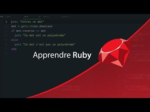 Apprendre Ruby : Les méthodes