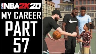 "NBA 2K20 - My Career - Let's Play - Part 57 - ""Nike Kids Basketball Camp"""