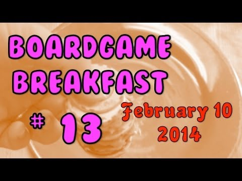 Board Game Breakfast: Episode 13 - Moving, part 1