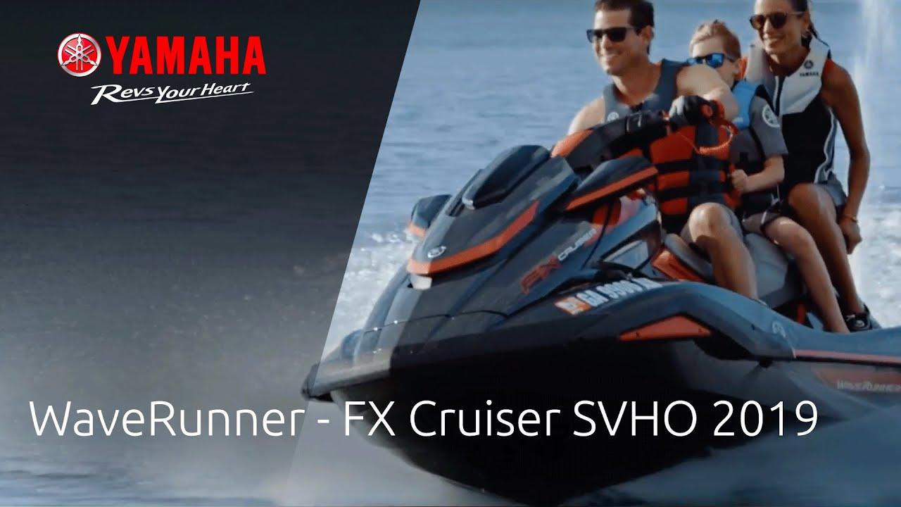 Yamaha Marine - WaveRunner – 2019 FX Cruiser SVHO