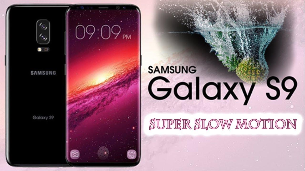 نتيجة بحث الصور عن samsung galaxy s9 super slow motion