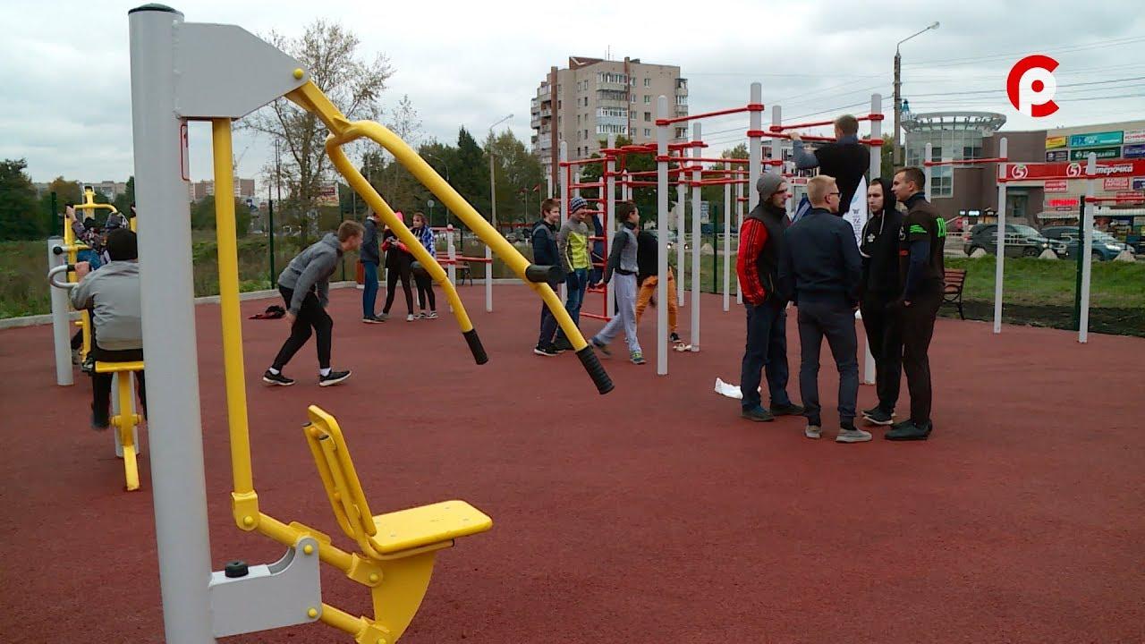 Развлекательная Программа Вологде   Открытие Спортивной Площадки в Вологде