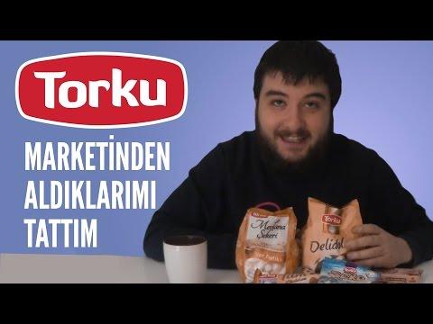 TORKU MARKETİNDEN ALDIKLARIMI TATTIM