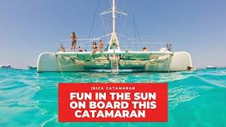 Ibiza Town to Formentera Catamaran Charter