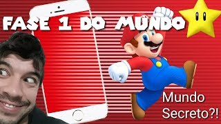 SUPER MARIO RUN #7: Todas as fases do Star World pt.1
