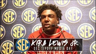 Kira Lewis Jr speaks to 'swagger' Nate Oats brings to Crimson Tide program