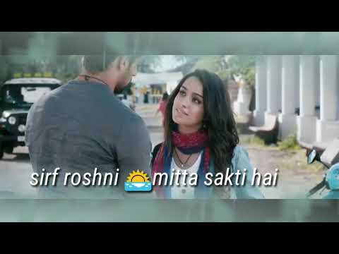 Andhere Ko andhera nahi sirf roshni mitta skti h serious WhatsApp video status