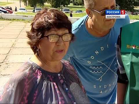 В Костроме открылась большая ярмарка саженцев
