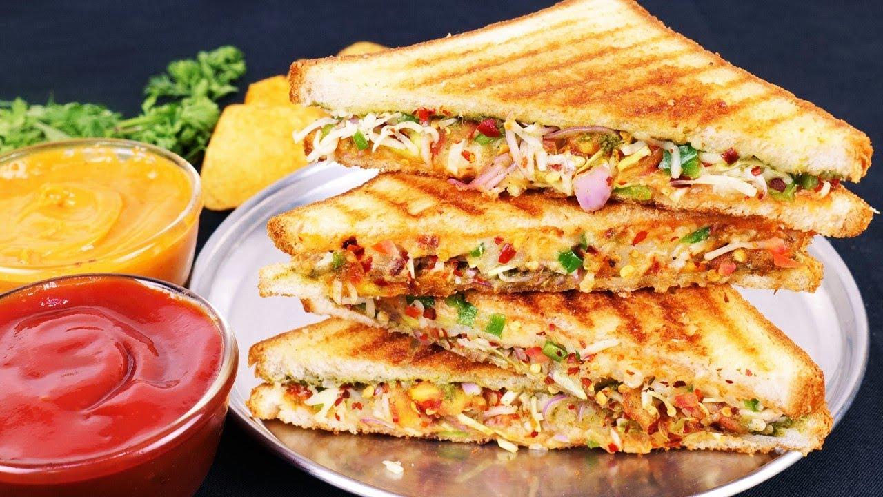 भूख में ना करो वेट तवे पर ऐसा हैल्दी सैंडवीच बाकी सब सैंडवीच खाना तो भुल जायेंगे Veg Cheese Sandwich