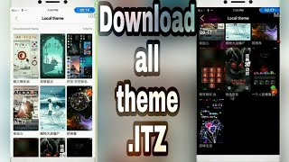 Download all itz theme ||for all vivo phones||mj help