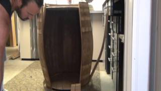Ultimate Macaw Wine Barrel Nest Box Pt3 Disassemble & Reassemble (how To) 'of 4