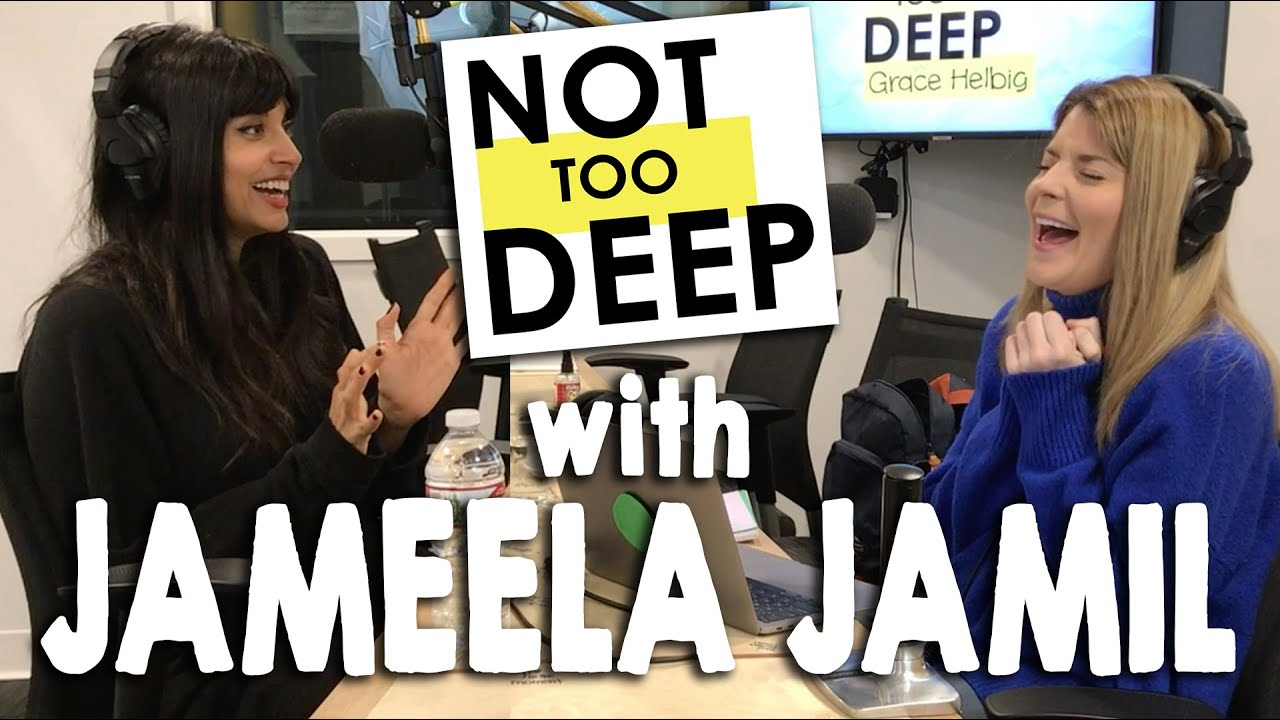 JAMEELA JAMIL on #NotTooDeep // Grace Helbig