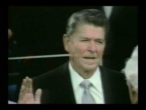 Reagan Oath Of Office