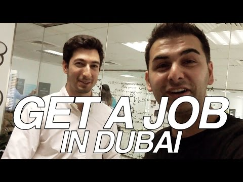 Get A Job in Dubai !!! #MeetTheEntrepreneurs #7