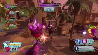 Plants vs Zombies GW2_Sasquash with ALL Roses