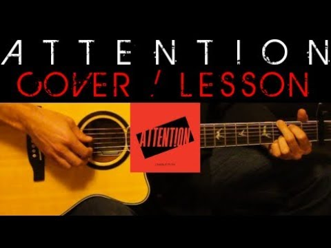 ATTENTION - Charlie Puth Cover 🎸 Easy Acoustic Guitar Tutorial ...