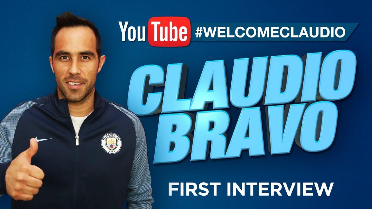 claudio bravo signs for man city exclusive first interview exclusive first interview