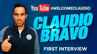CLAUDIO BRAVO SIGNS FOR MAN CITY! | Exclusive First Interview