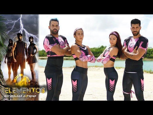 Â¡Ellos son el equipo futbolistas! | Reto 4 Elementos, segunda temporada