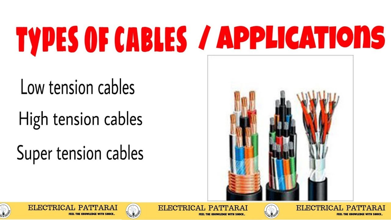 Types Of Cables Used In Transmission System | Classification ...