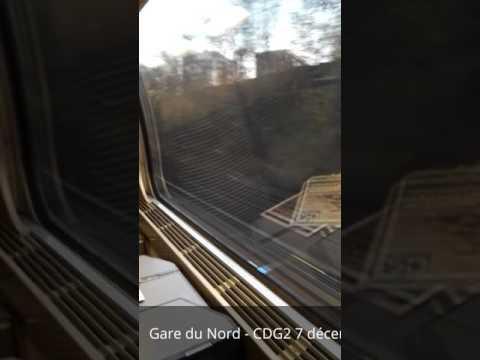 Paris Gare du Nord - Aéroport Charles de Gaulle 2 en 20min