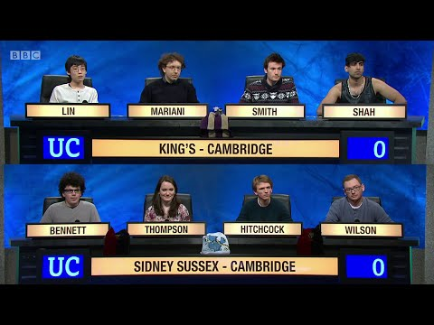 University Challenge S45E09 - King's College, Cambridge vs Sidney Sussex College, Cambridge