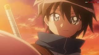 Najlepsze fragmenty z Anime: Zero no Tsukaima - Saito vs Albion Army