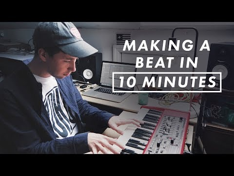 10 Minute Beat Challenge - Making A Chilled Beat From Scratch