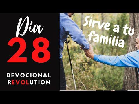 """día-28---sirve-a-tu-familia---""""devocional-revolution""""---40-días-aprendiendo-del-amor-de-dios."""