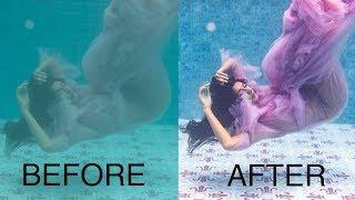 How to Colorgrade Underwater Photos