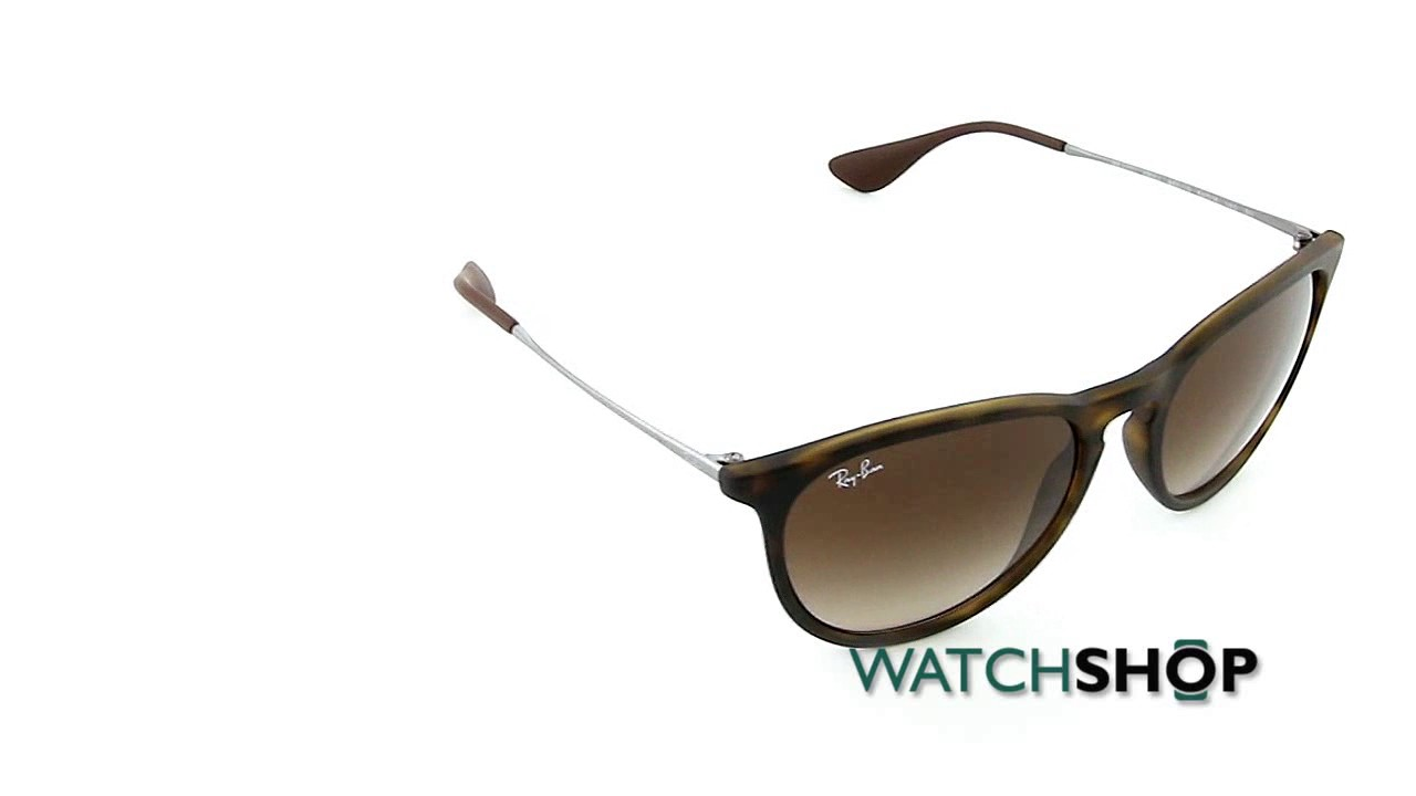 a4fa6b90a65088 Ray-Ban Erika Classic Sunglasses (RB4171-865 13-54) - YouTube