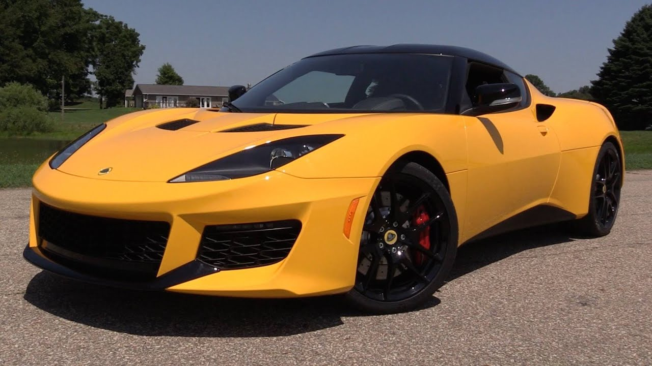 2017 Lotus Evora 400 Start Up Road Track Test In Depth Review You