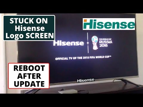 How To Fix Hisense TV Wont Turn On After Update || Hisense TV Stuck On Loading Screen