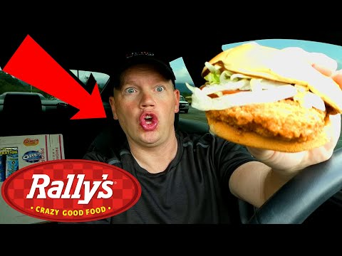 Rally's Checkers Big Mother Cruncher Chicken Sandwich (Reed Reviews)