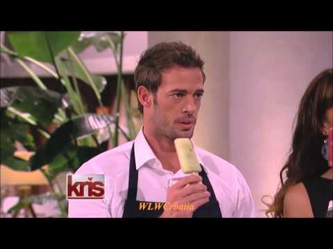 William Levy Romances Kris Jenner with Wine Popsicles