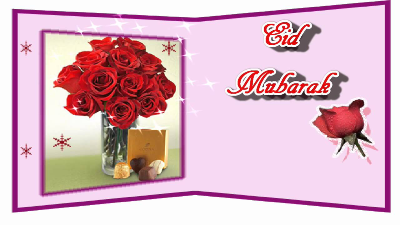 Eid mubarak video greeting ecard youtube kristyandbryce Choice Image