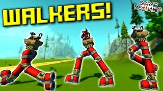 When Your Legs Don't Work Like They Used to Before... - Scrap Mechanic Workshop Hunters