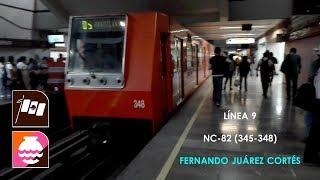 Metro CDMX Línea 9 De Patriotismo a Tacubaya NC 82