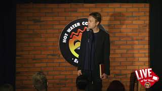Bentley Browning   LIVE at Hot Water Comedy Club