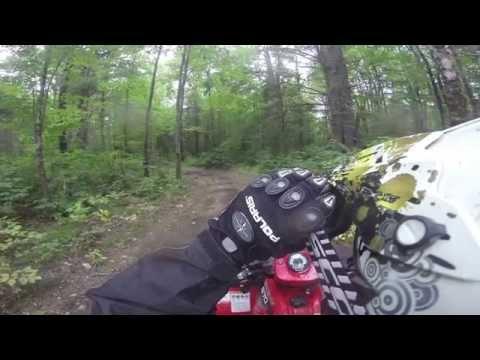 Dead Horse Trail FR168 to FR335 Ashland County Wisconsin ATV UTV 9/12/14 Polaris Sportsman 570 RZR