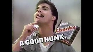 1987 chunky a good hunk commercial