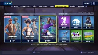 FORTNITE: NEW Shop of the Day April 10, NEW SKINS LOUP OF MER, BOUCANIERE!