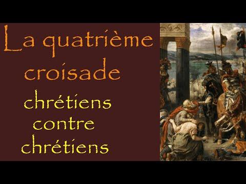 La quatrième croisade : choc des civilisations entre chrétiens