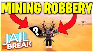 JAILBREAK ROBLOX MINING ROBBERY UPDATE COMING UP! NEW LICENSE PLATE