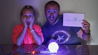 Creation Crate Arduino Based Mood Lamp - Month 1 Box Review