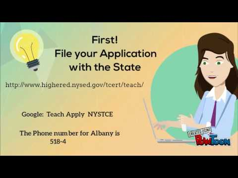 teacher certification nyc -