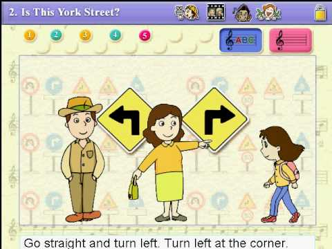 """Gr6 ch2 song """"Is this York street?"""""""