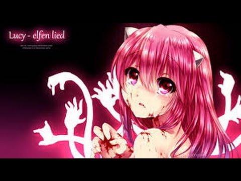 AMV - Lucy~Elfen Lied~ Monster(Nightcore) ~