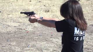 chick shooting phoenix arms hp22 deluxe